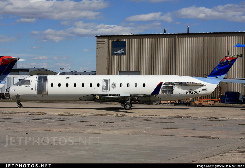 N920CA - Bombardier CRJ-100ER - Private