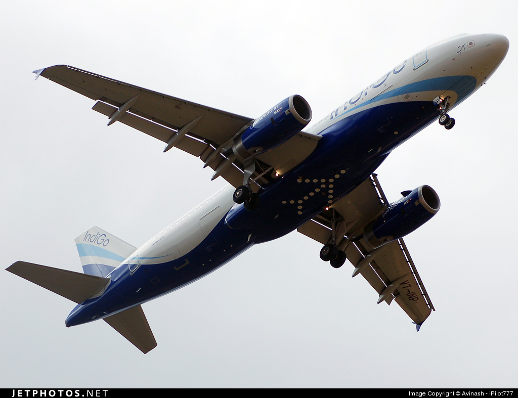 VT-INP - Airbus A320-232 - IndiGo Airlines