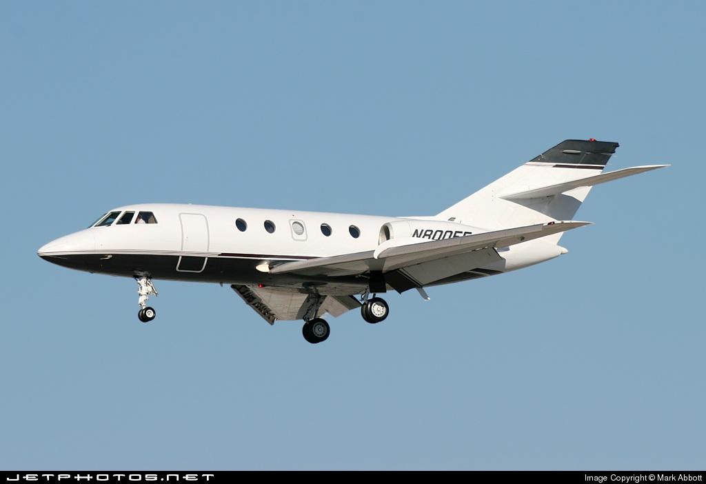 N800FF - Dassault Falcon 20 - Private