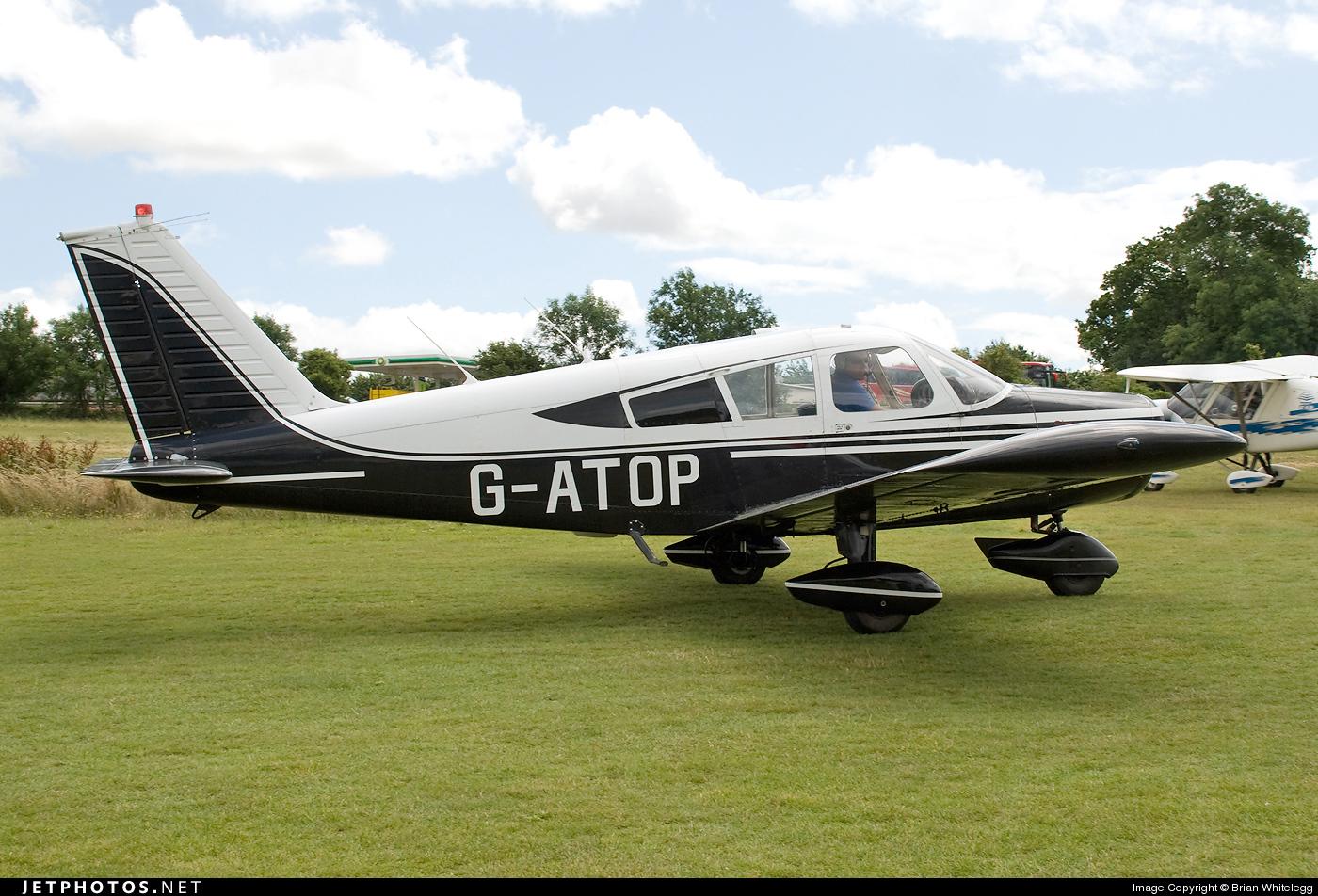 G-ATOP - Piper PA-28-140 Cherokee - Private