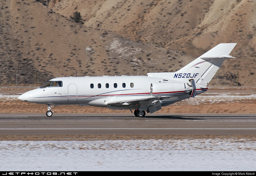 N520JF - Raytheon Hawker 800XP - Private