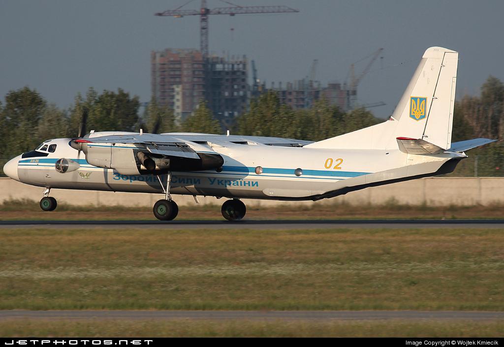 02 - Antonov An-26B - Ukraine - Government