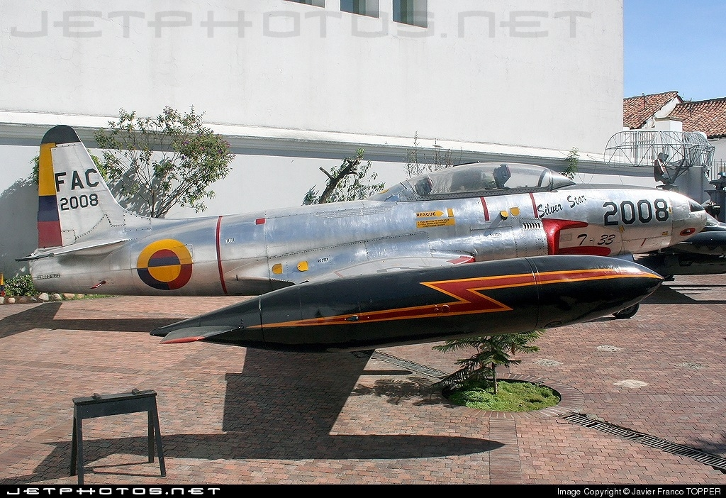 FAC2008 - Lockheed T-33A Shooting Star - Colombia - Air Force