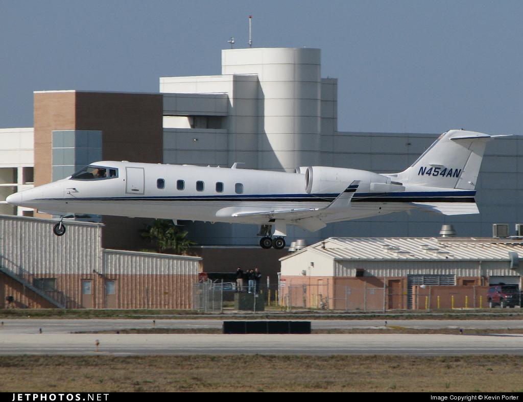 N454AN - Bombardier Learjet 60 - Private