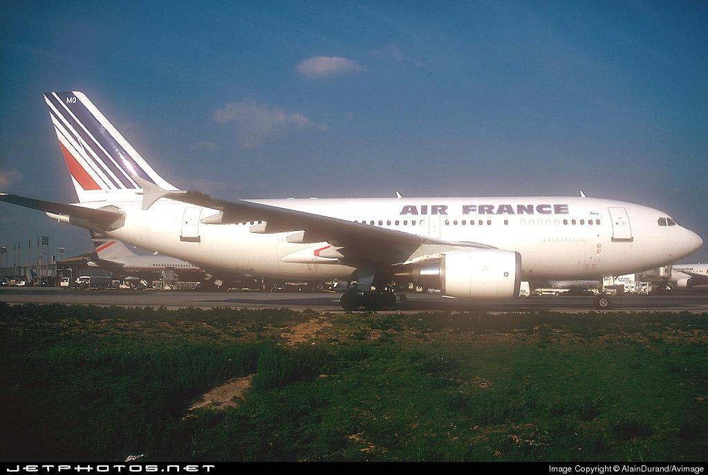 F-GEMQ - Airbus A310-304 - Air France