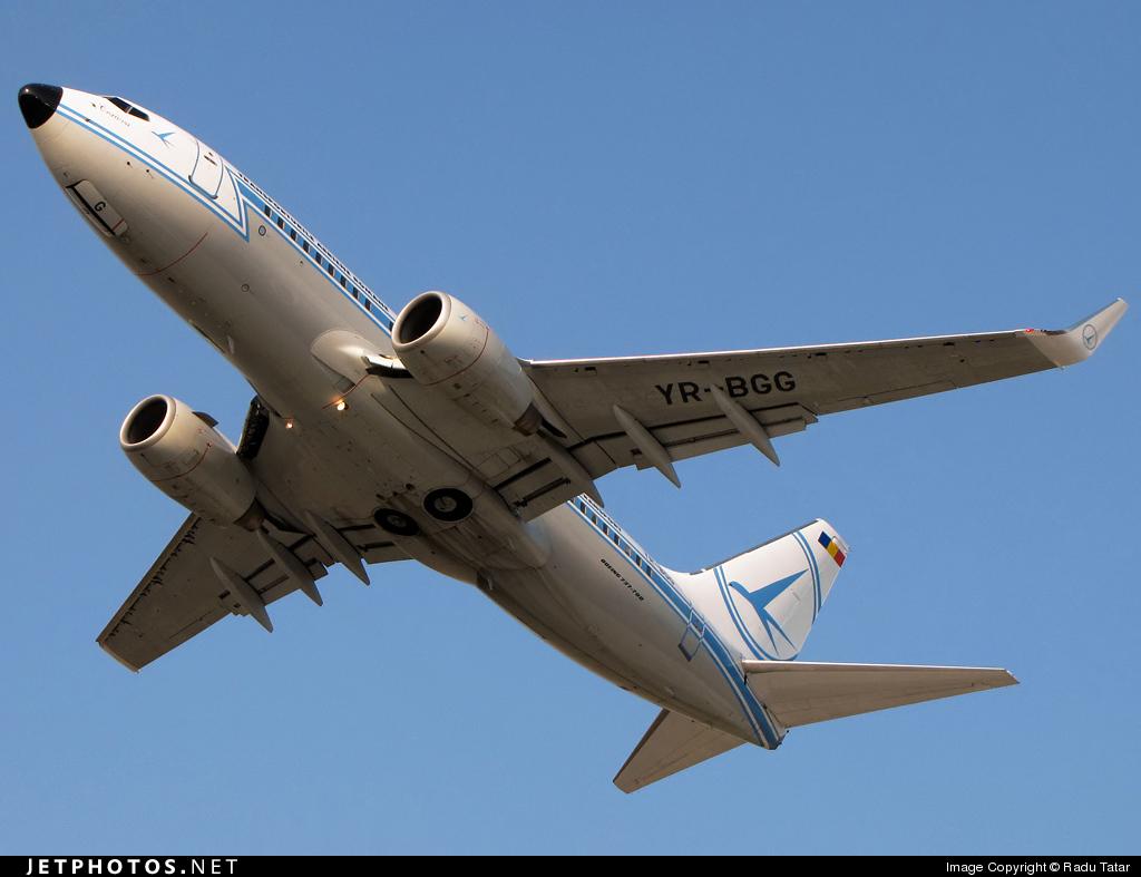 YR-BGG - Boeing 737-78J - Tarom - Romanian Air Transport