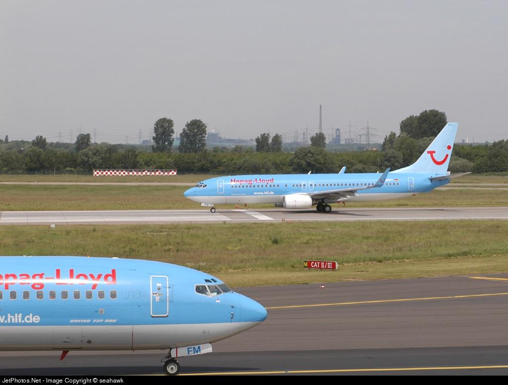D-AHFY - Boeing 737-8K5 - Hapag-Lloyd