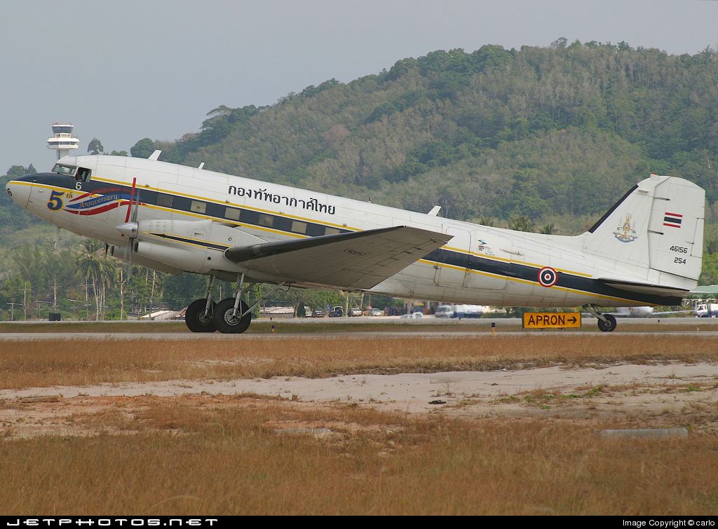 L2K-6/42 - Basler BT-67 - Thailand - Royal Thai Air Force
