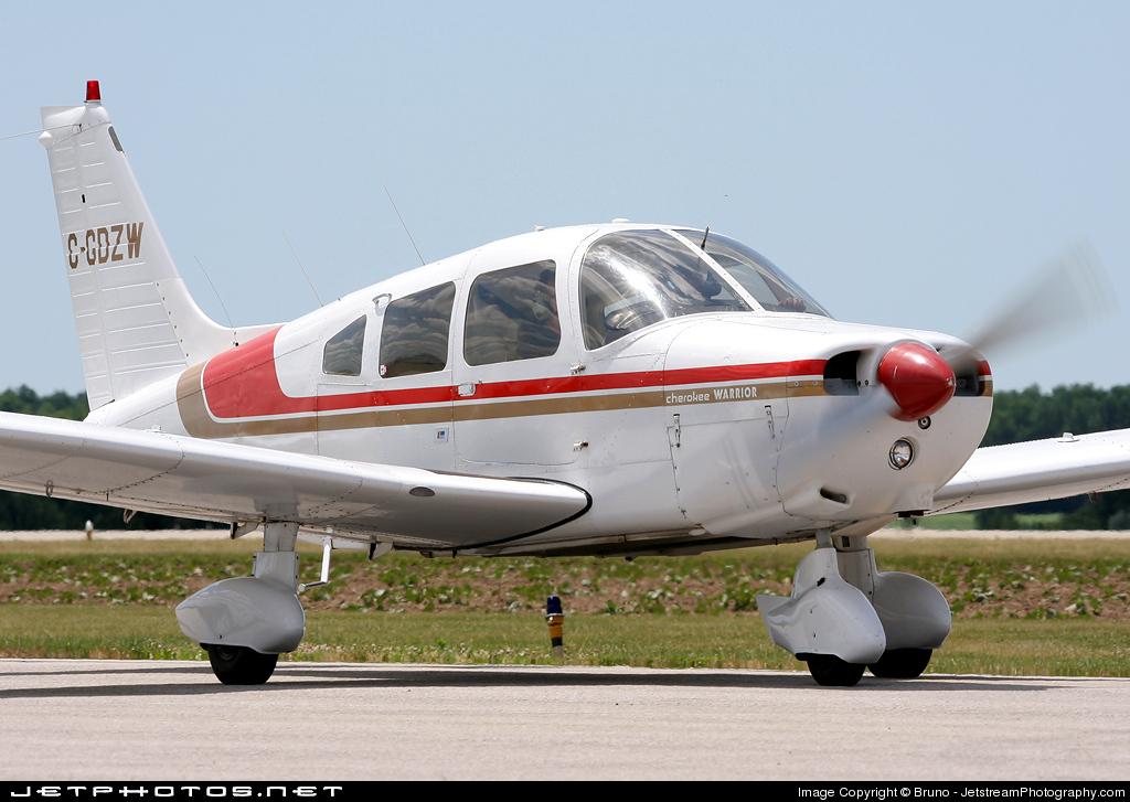 C-GDZW - Piper PA-28-151 Cherokee Warrior - Private