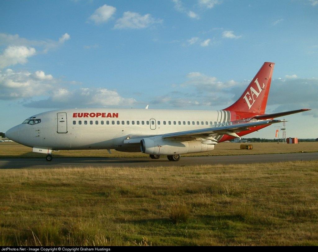 G-CEAH - Boeing 737-229(Adv) - European Aviation (EAL)