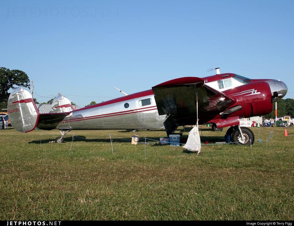 N241D - Beech C-45H Expeditor - Barron Aviation