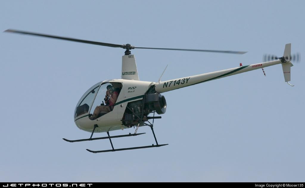 N7143Y - Robinson R22 Beta II - Private
