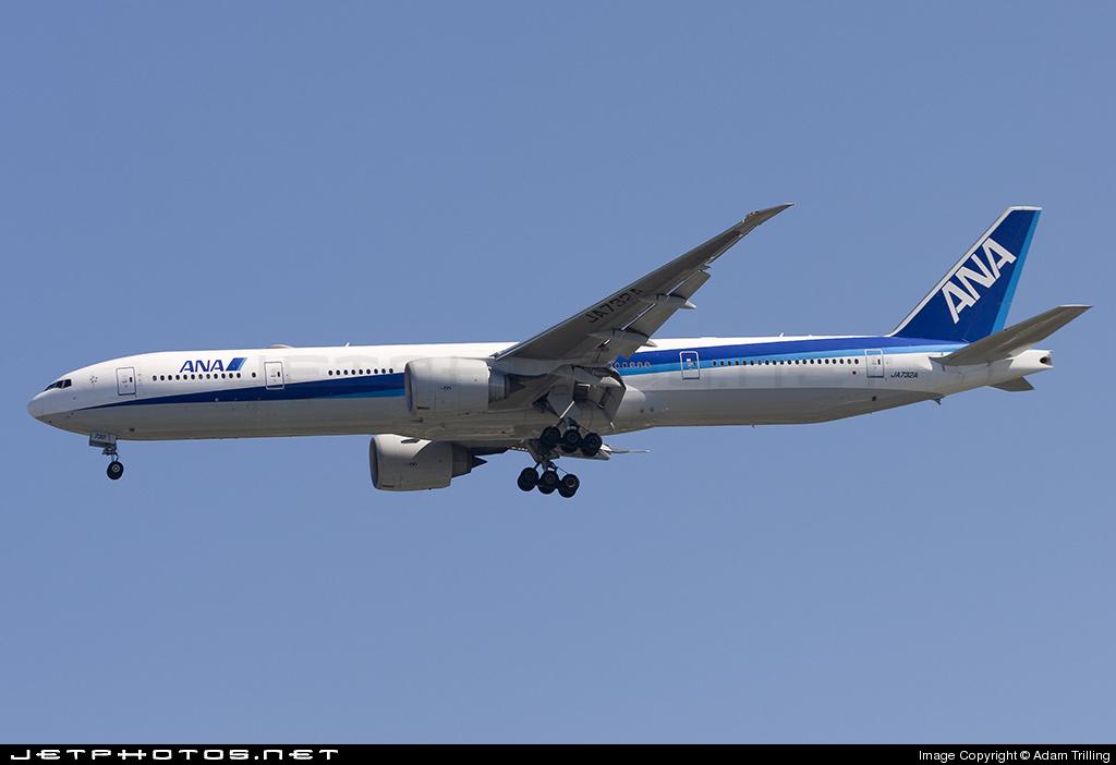 JA732A - Boeing 777-381ER - All Nippon Airways (ANA)