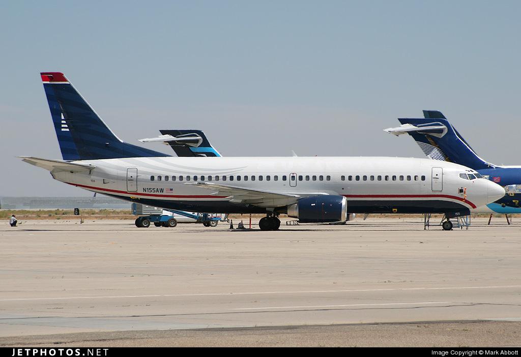 N155AW - Boeing 737-3G7 - US Airways