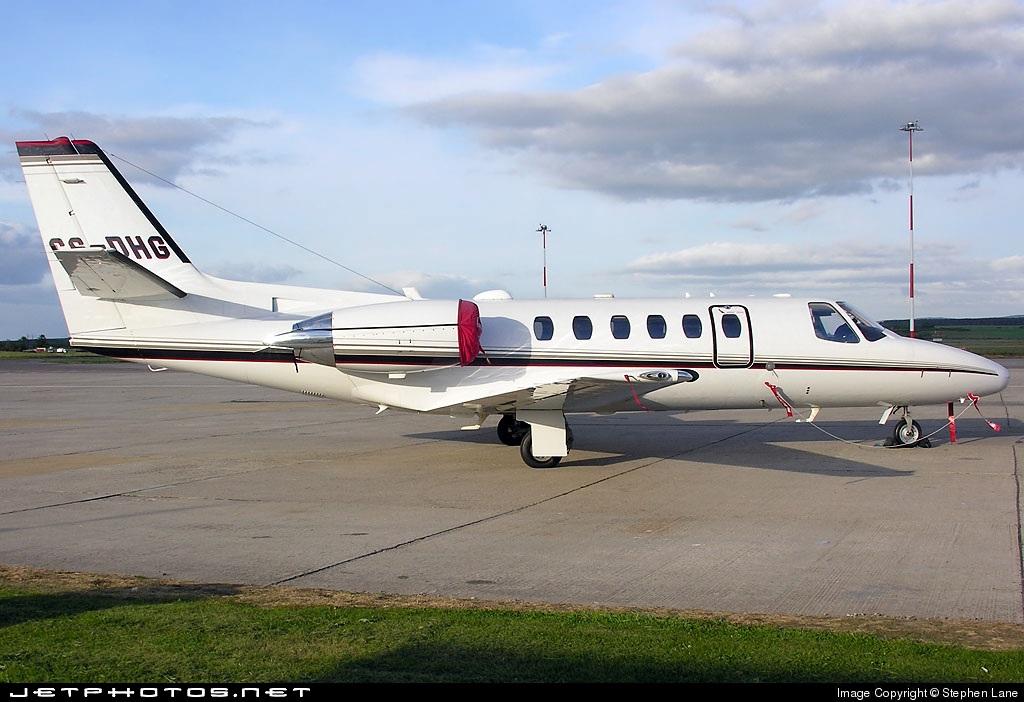 CS-DHG - Cessna 550B Citation Bravo - NetJets Europe