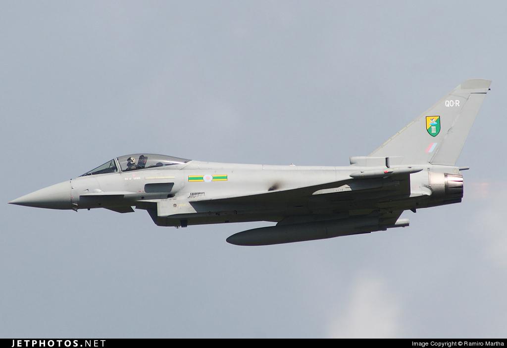 ZJ925 - Eurofighter Typhoon F.2 - United Kingdom - Royal Air Force (RAF)
