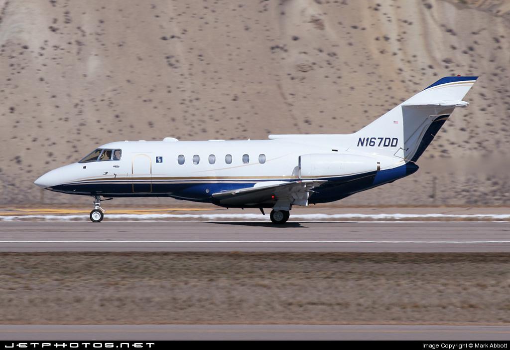 N167DD - Raytheon Hawker 800XP - Private
