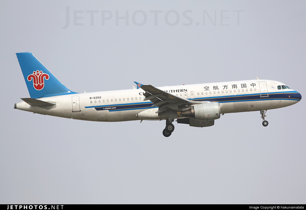 B-6252 - Airbus A320-214 - China Southern Airlines