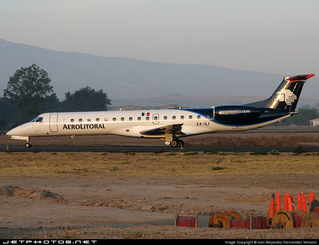 XA-ILI - Embraer ERJ-145LU - Aerolitoral