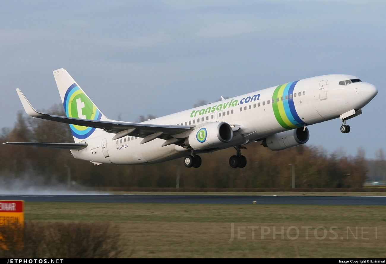 PH-HZX - Boeing 737-8K2 - Transavia Airlines