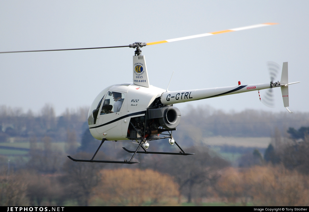 G-CTRL - Robinson R22 Beta II - Central Helicopters