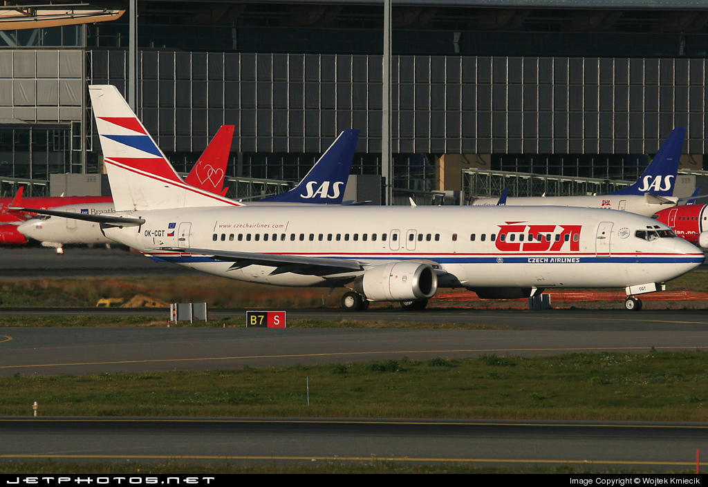 OK-CGT - Boeing 737-46M - CSA Czech Airlines