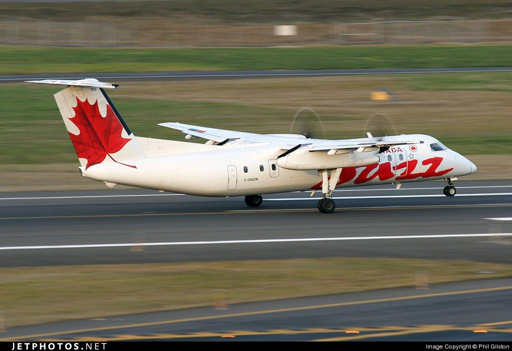 C-GNON - Bombardier Dash 8-301 - Air Canada Jazz