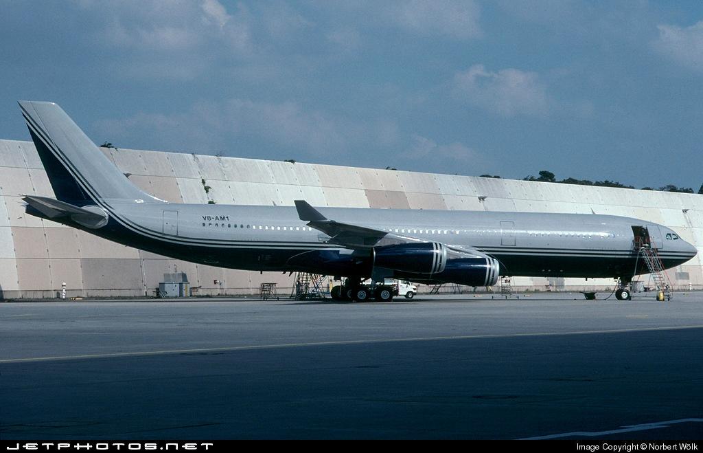 V8-AM1 - Airbus A340-213 - Brunei - Sultan's Flight