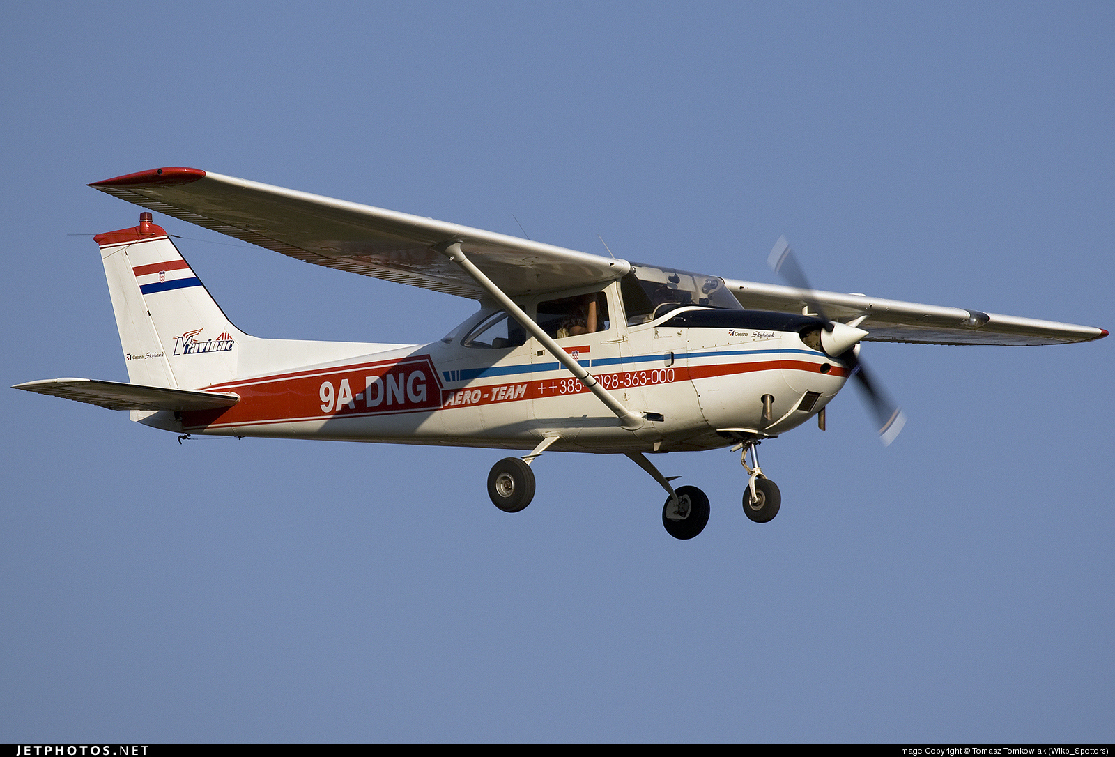 9A-DNG - Reims-Cessna F172F Skyhawk - Private