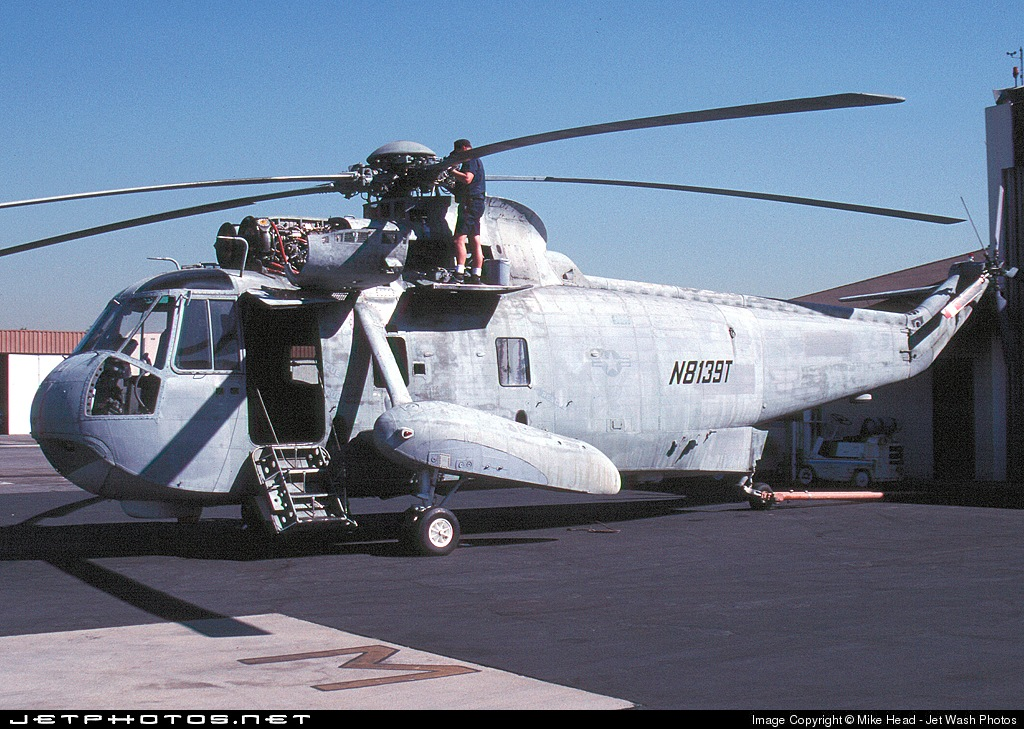 N8139T - Sikorsky SH-3A Sea King - United States - Los Angeles County Sheriff
