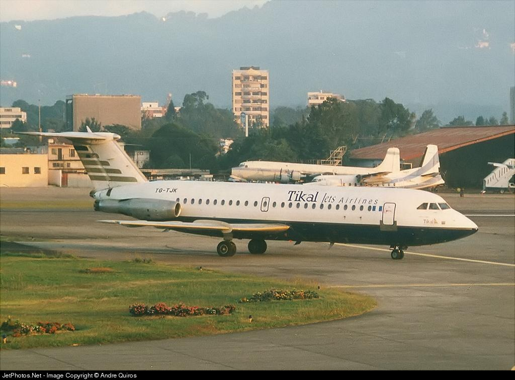 TG-TJK - British Aircraft Corporation BAC 1-11 Series 401AK - Tikal Jets