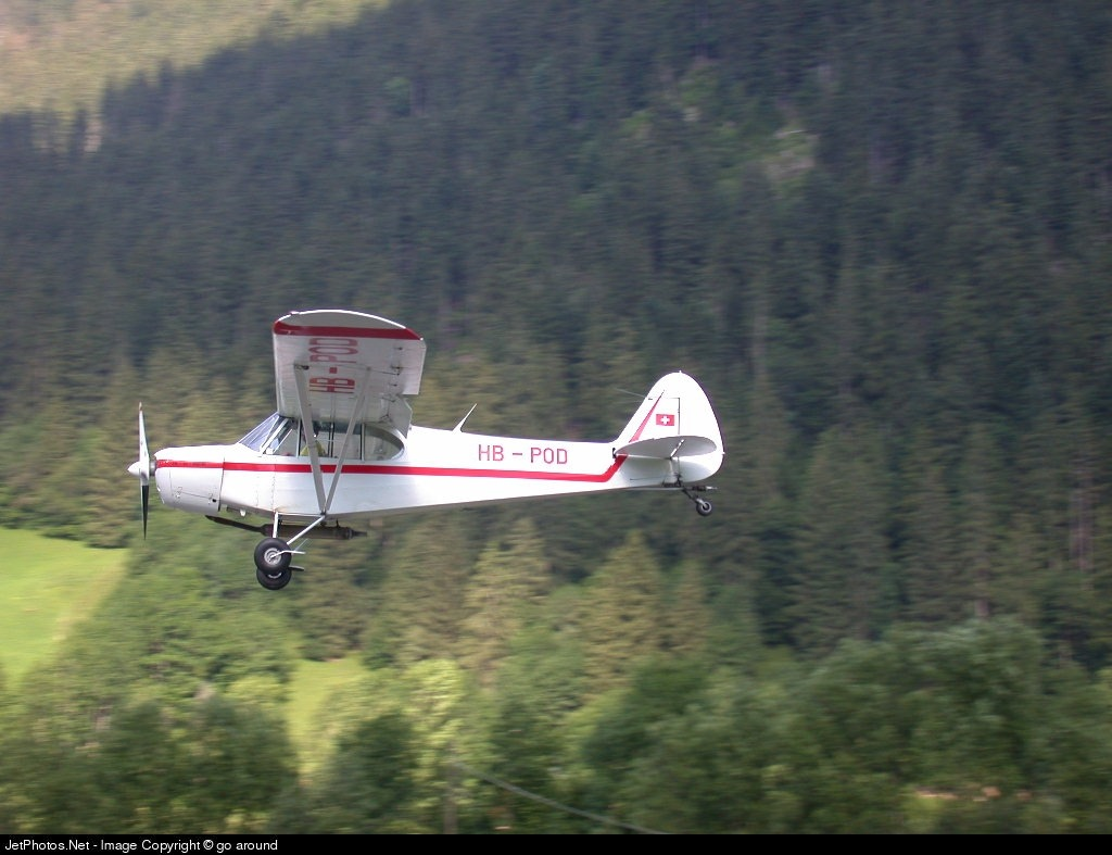 HB-POD - Piper PA-18-180M Super Cub - Private