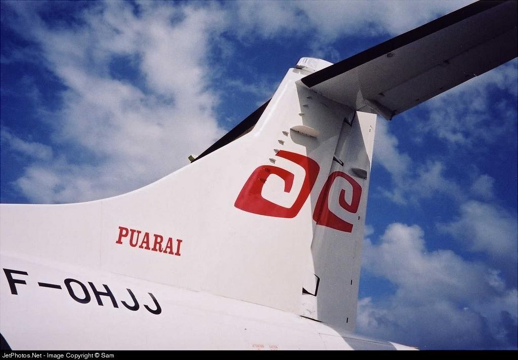 F-OHJJ - ATR 72-212A(500) - Air Tahiti