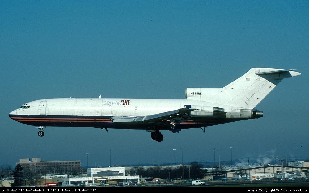N240NE - Boeing 727-31(F) - Express One International