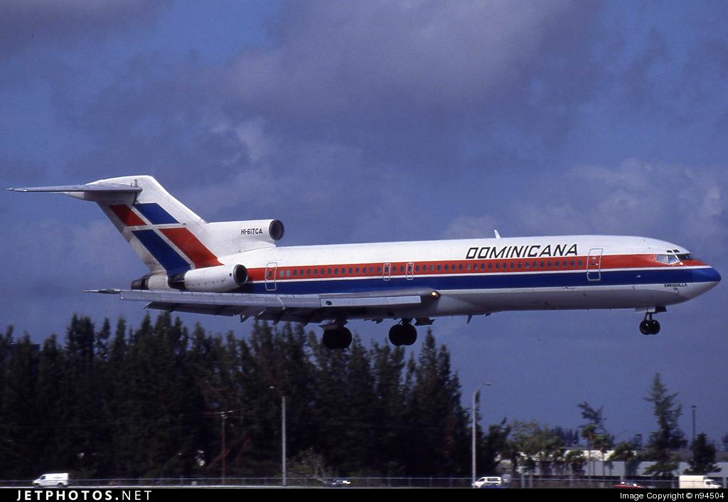HI-617CA - Boeing 727-281(Adv) - Dominicana