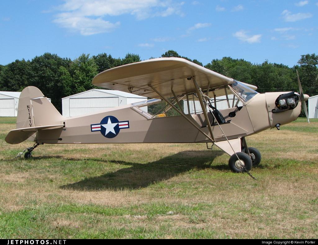 N1141V - Piper J-3C-65 Cub - Private