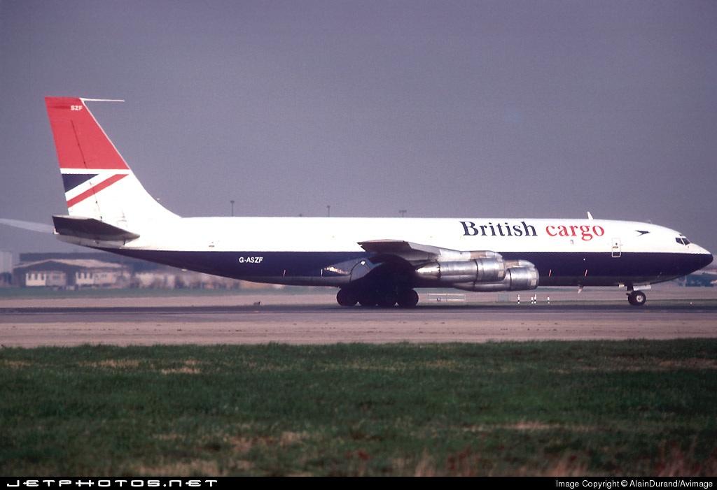 G-ASZF - Boeing 707-336C - British Airways Cargo