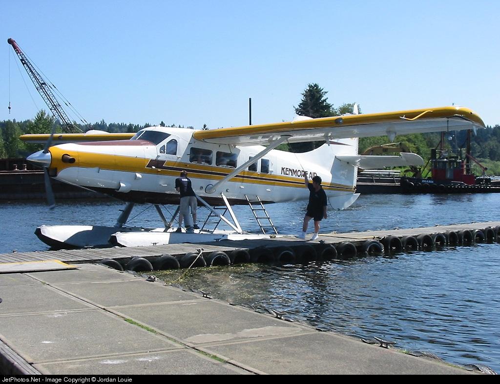 N707KA - De Havilland Canada DHC-3T Vazar Turbine Otter - Kenmore Air