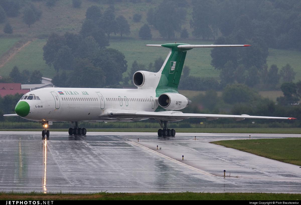 4K-727 - Tupolev Tu-154M - Turan Air