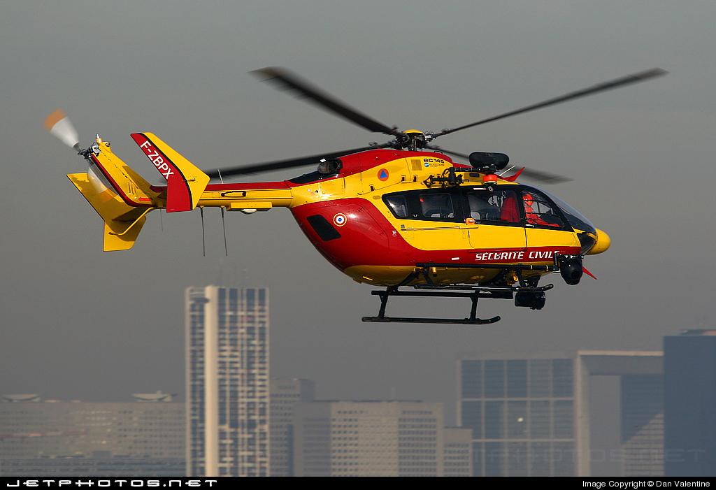 F-ZBPX - Eurocopter EC 145 - France - Sécurité Civile