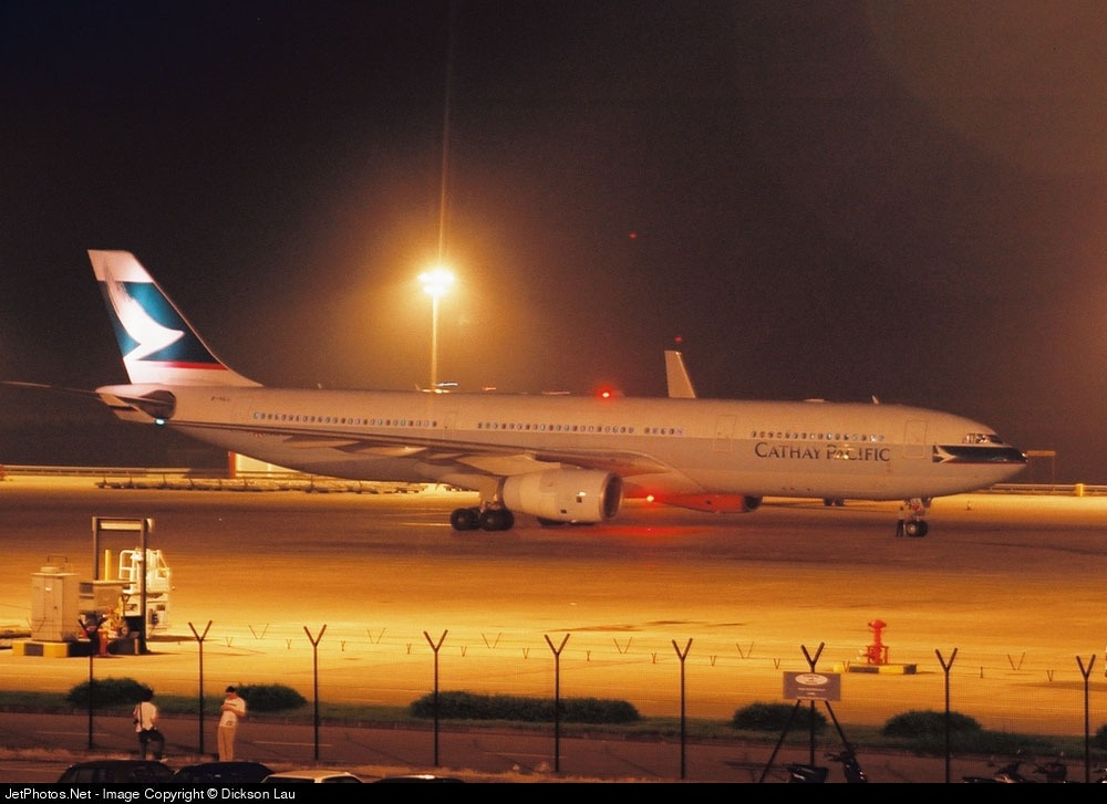 B-HLL - Airbus A330-342 - Cathay Pacific Airways