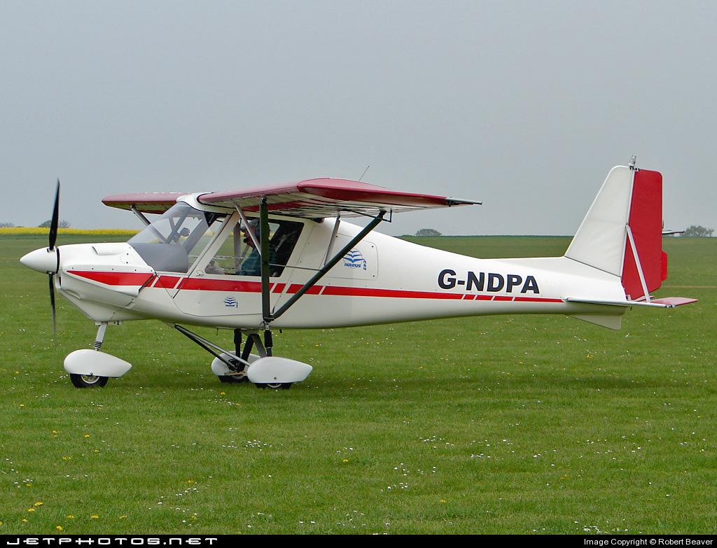 G-NDPA - Ikarus C-42 - Private