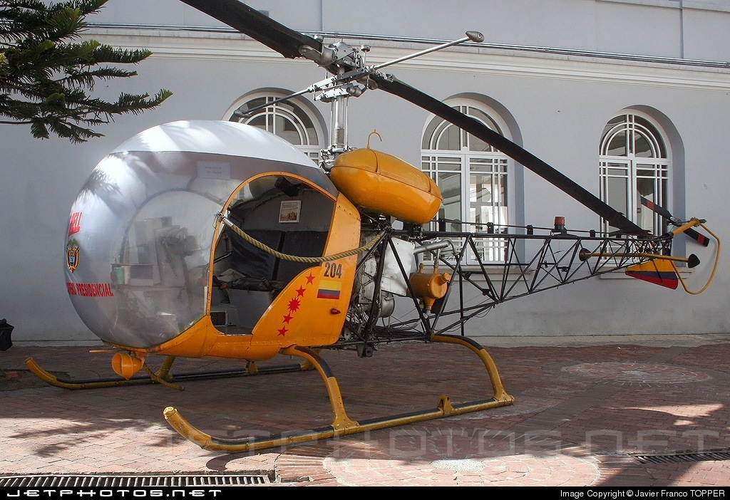 FAC204 - Bell 47 - Colombia - Air Force