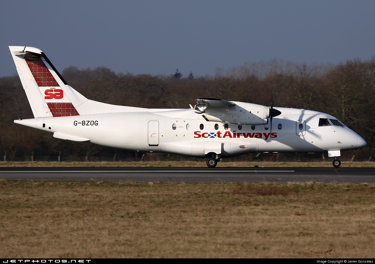 G-BZOG - Dornier Do-328-100 - ScotAirways