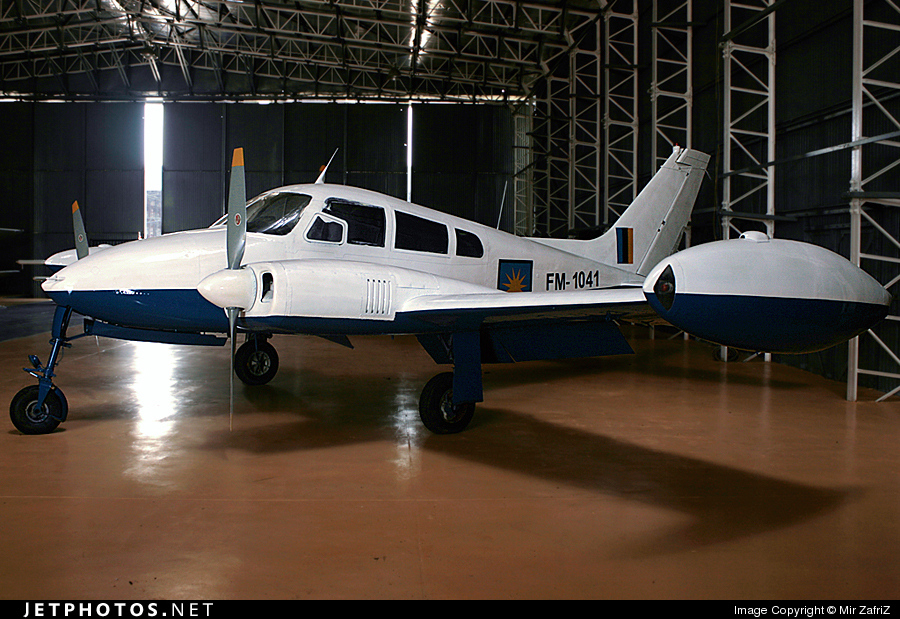 FM-1041 - Cessna 310F - Malaysia - Air Force
