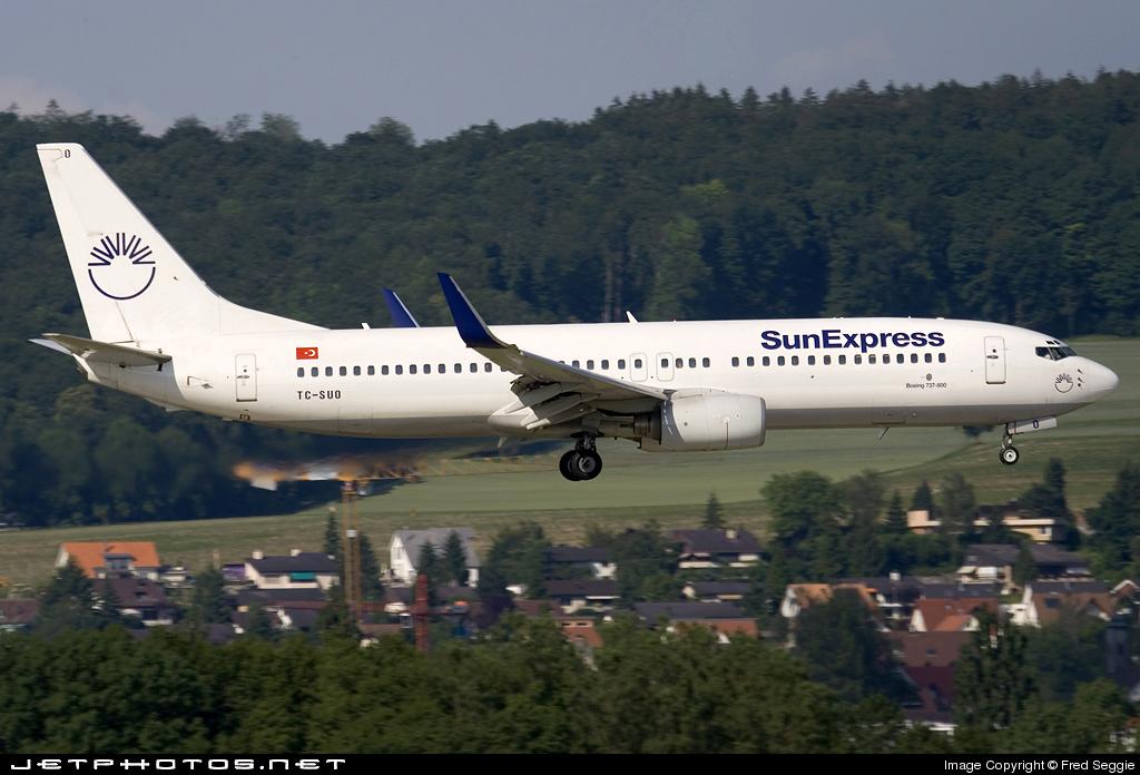 TC-SUD - Boeing 737-86N - SunExpress