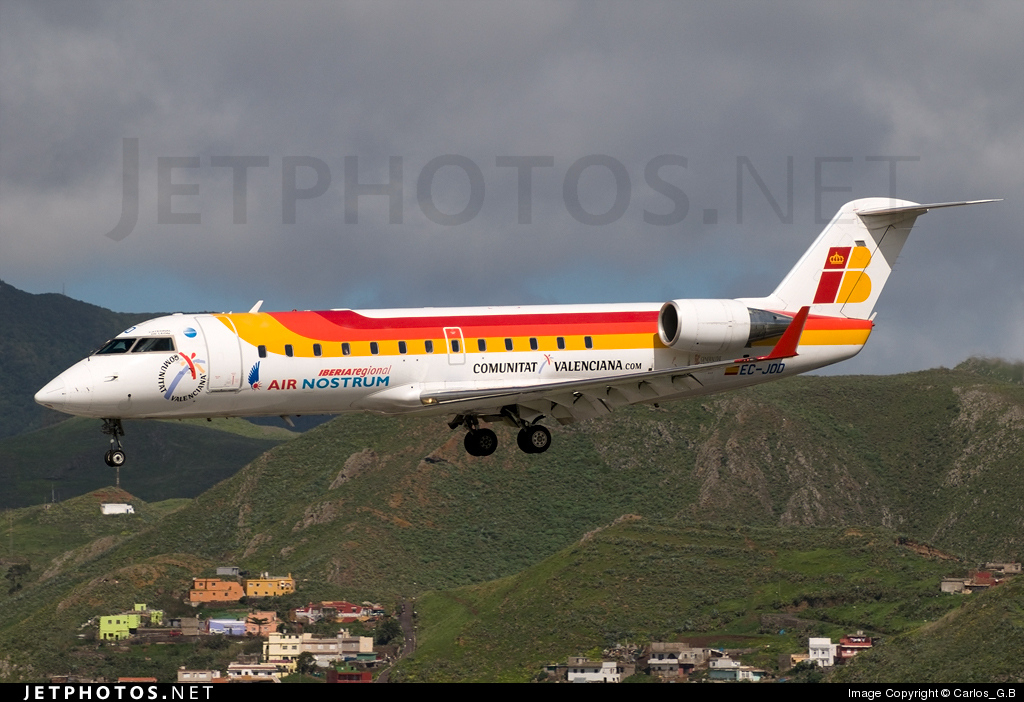 EC-JOD - Bombardier CRJ-200ER - Iberia Regional (Air Nostrum)