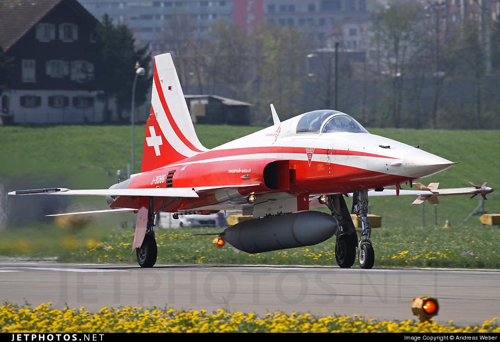 J-3086 - Northrop F-5E Tiger II - Switzerland - Air Force