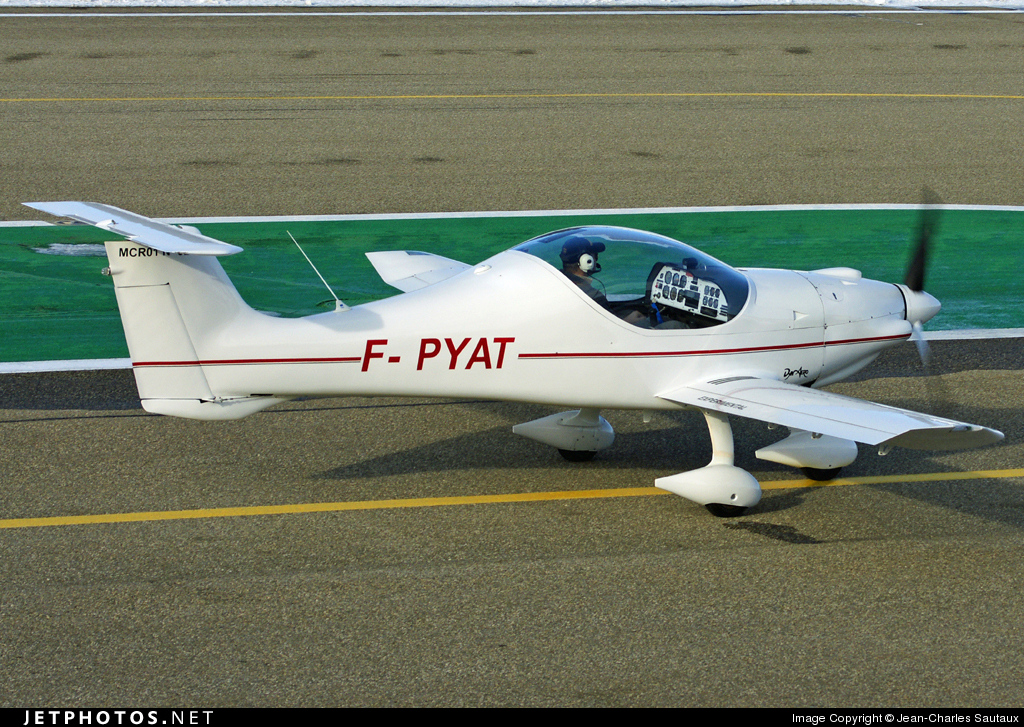 F-PYAT - Dyn'Aéro MCR-01 Club - Private