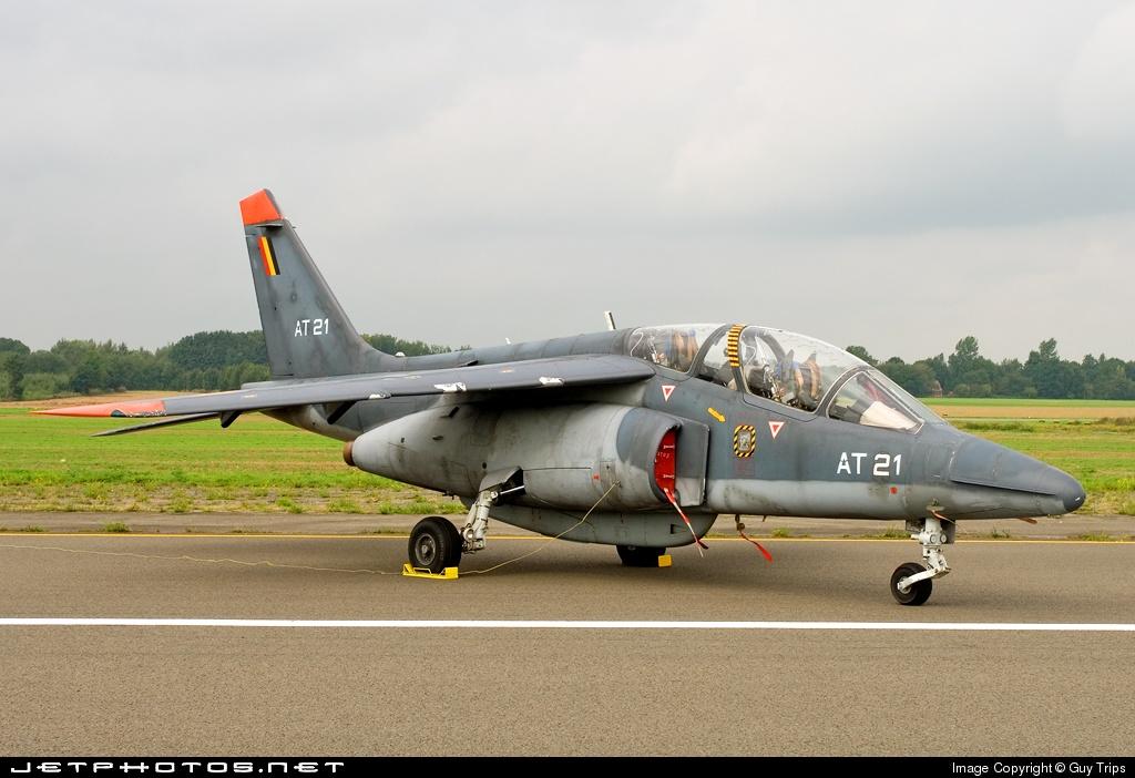 AT-21 - Dassault-Dornier Alpha Jet 1B+ - Belgium - Air Force